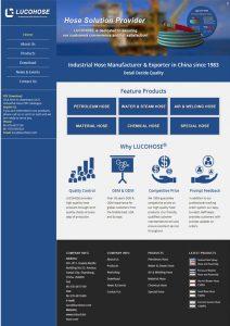 工业管英文网站-老船长网站案例-1