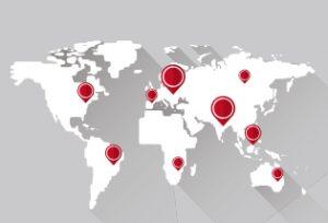 覆盖全球95%的国外采购商