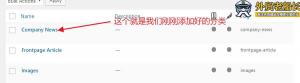 3.网站新闻页面的更新及优化说明