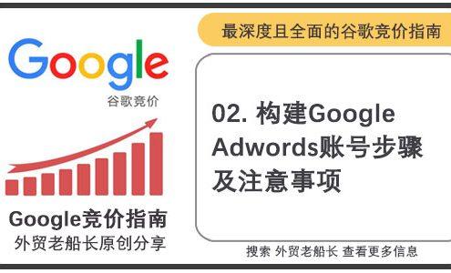 02.构建Google-Adwords账号步骤及注意事项-外贸老船长