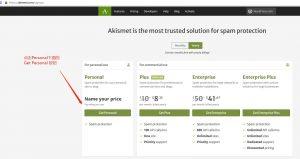 1-登陆Akismeet网站 外贸网站拦截