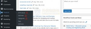 01-Elementor外贸网站产品管理界面介绍