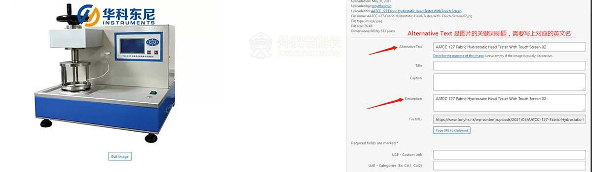 3-外贸网站图片Alt关键词优化-外贸老船长